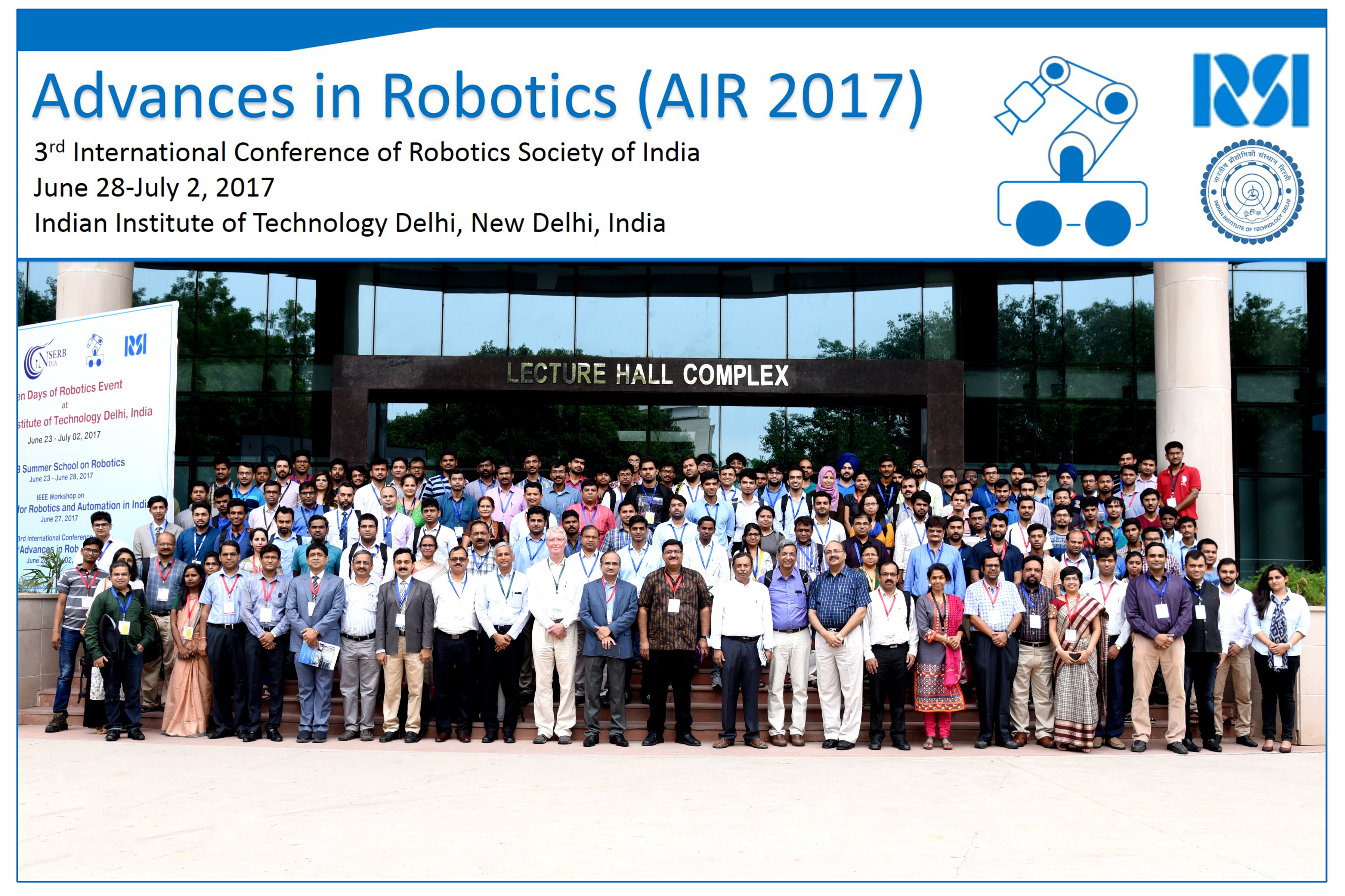 Advances In Robotics Air 2017 3rd International Conference Of